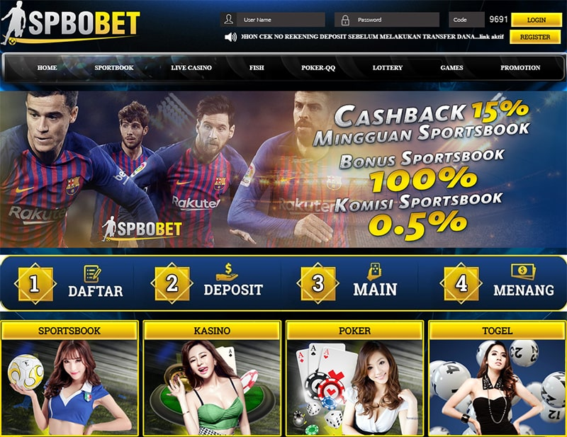 situs agen judi bola spbobet spbo bet online terpercaya indonesia